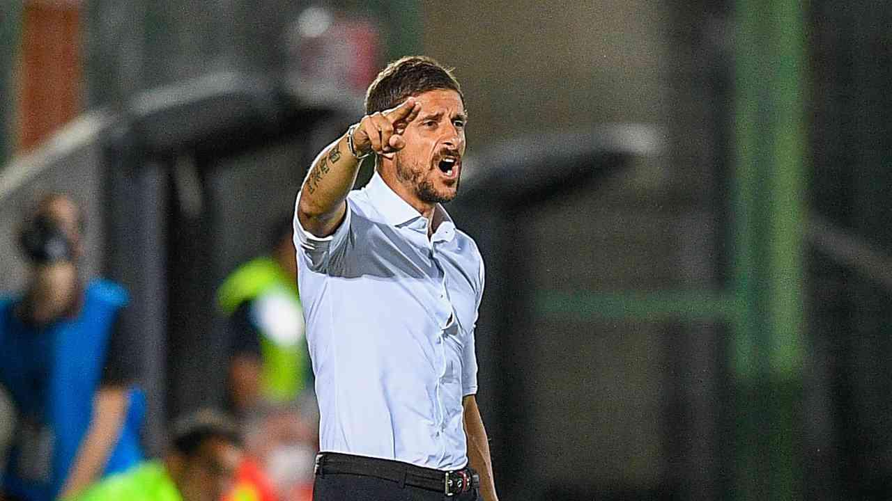 Empoli, l'allenatore Alessio DIonisi (foto di Getty Images/Getty Images per Lega Serie B)