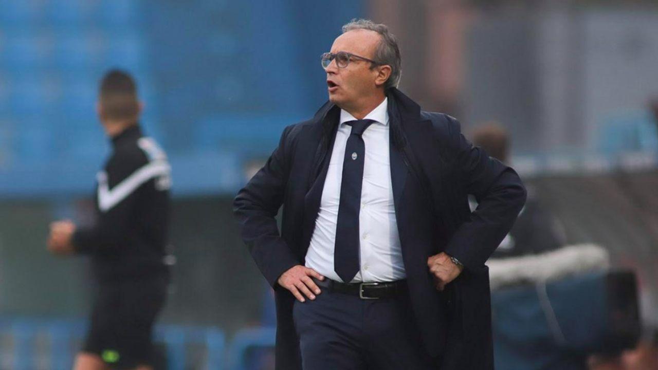 SPAL, in primo piano: l'allenatore Pasquale Marino a bordocampo (foto © Società Polisportiva Ars et Labor)