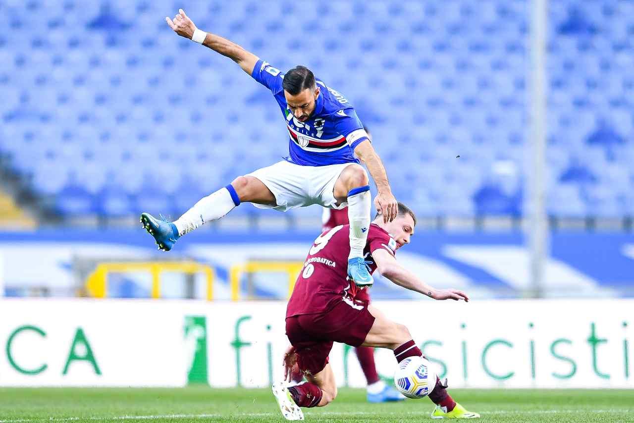 Quagliarella e Belotti (Photo by Getty Images)