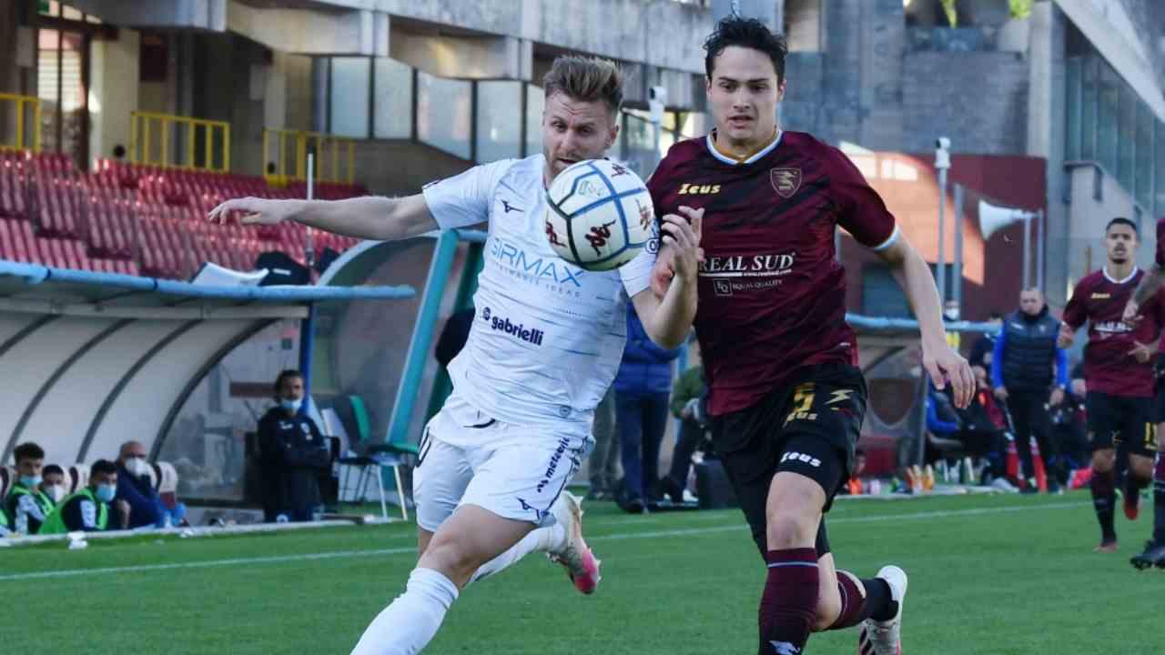 Partita di Serie B del 5 dicembre 2020: Salernitana-Cittadella, Stadio Arechi (foto © Photo Ianuale)