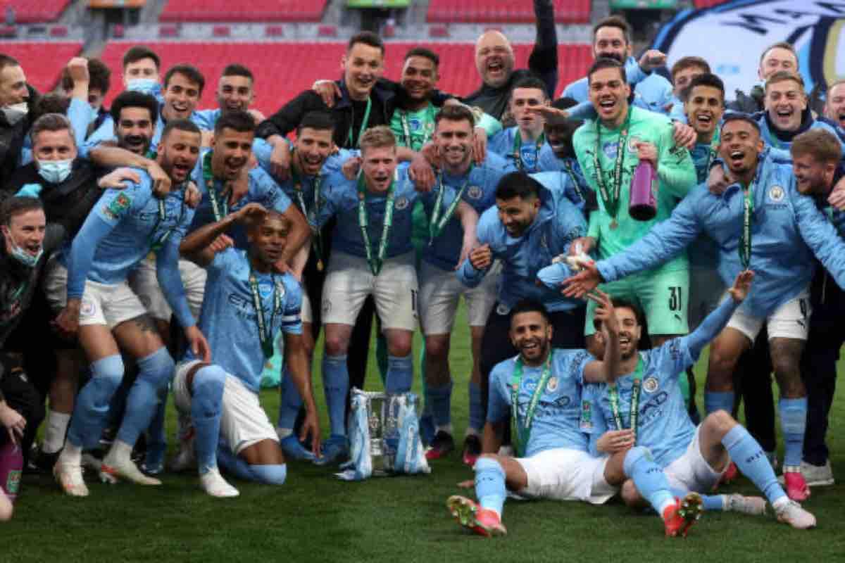 Carabao Cup, la vittoria del Manchester City