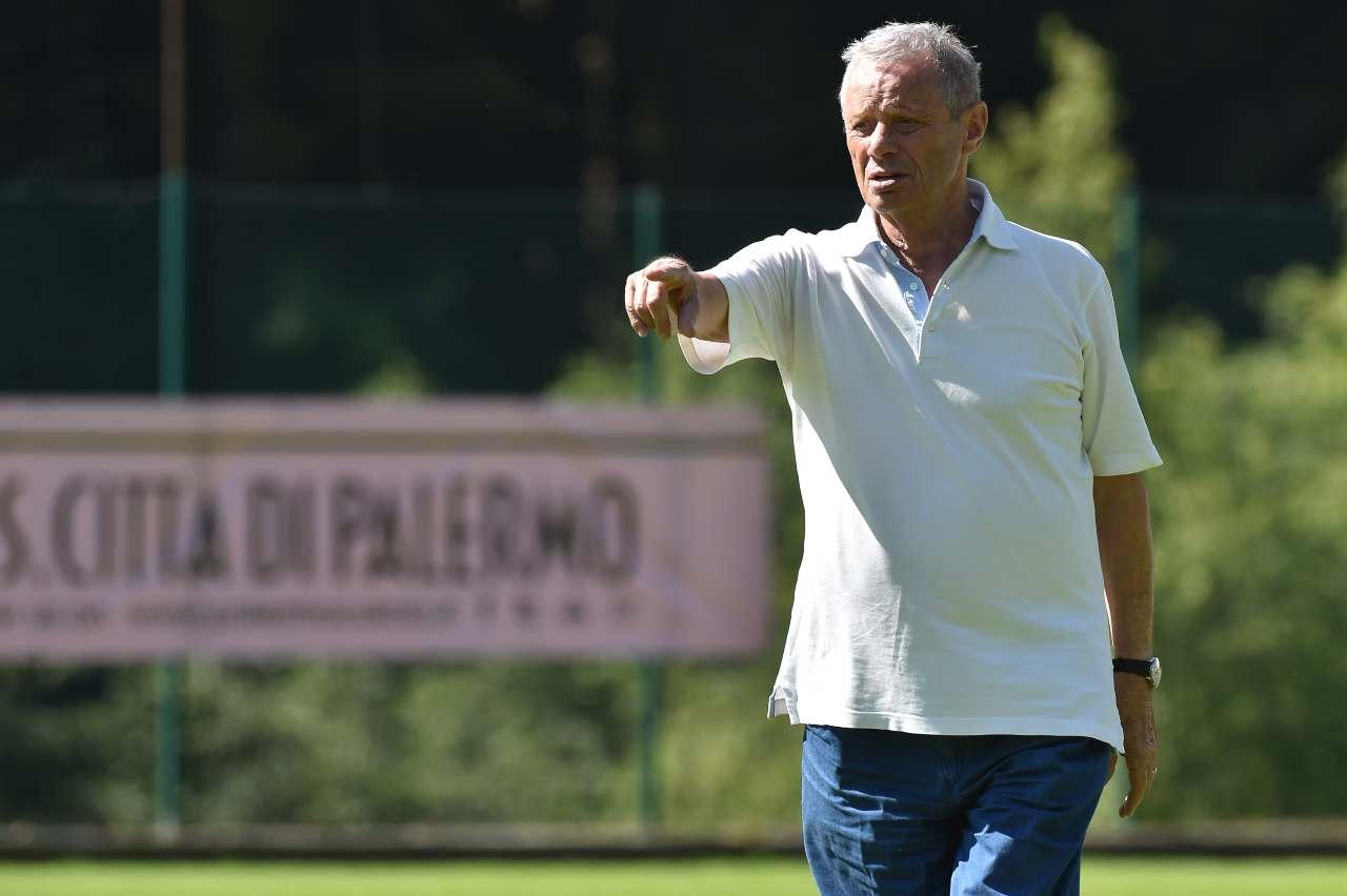 Maurizio Zamparini, ex presidente del Palermo. Getty Images