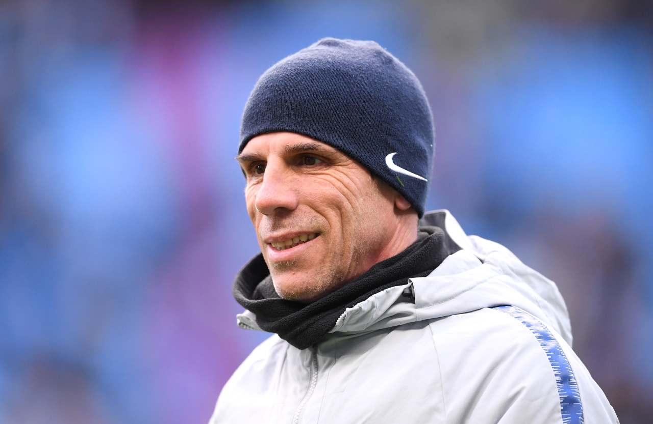 Gianfranco Zola, ex attaccante di Napoli e Cagliari. Getty Images