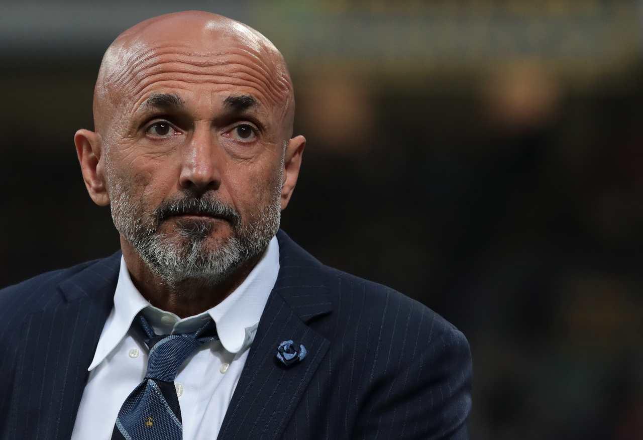 Luciano Spalletti, allenatore nel mirino del Napoli. Getty Images