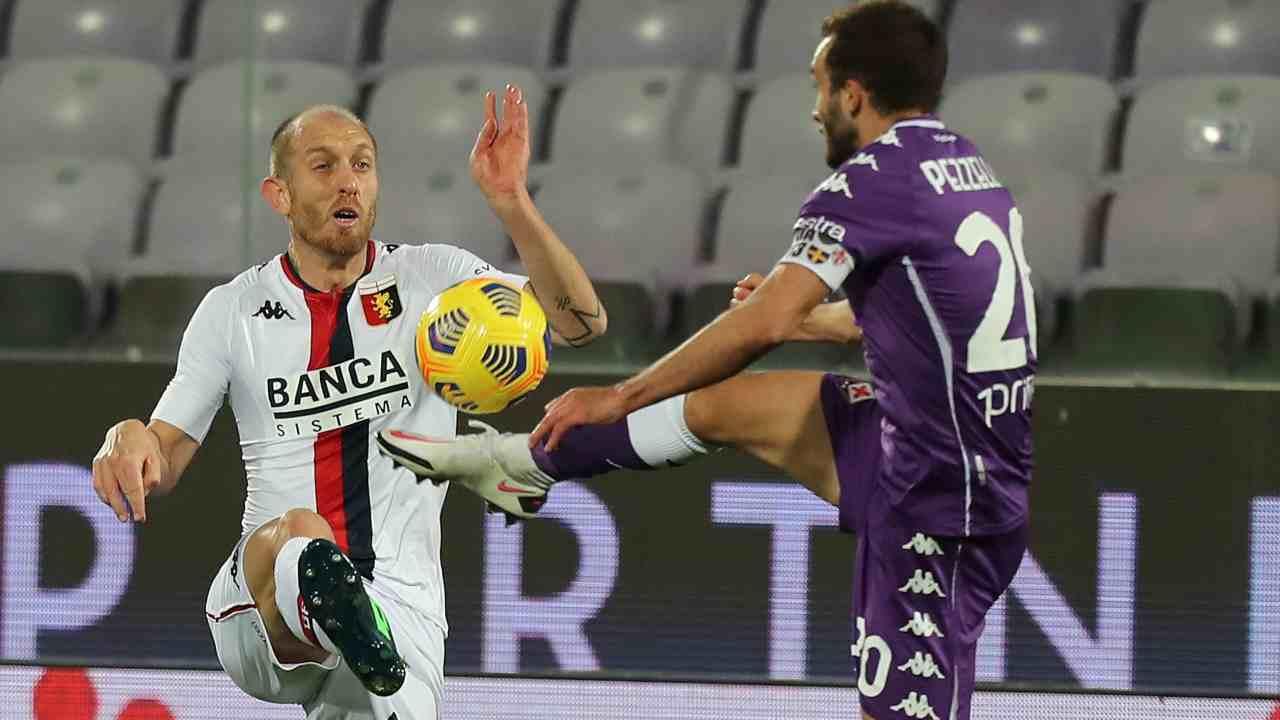 Genoa Fiorentina diretta streaming