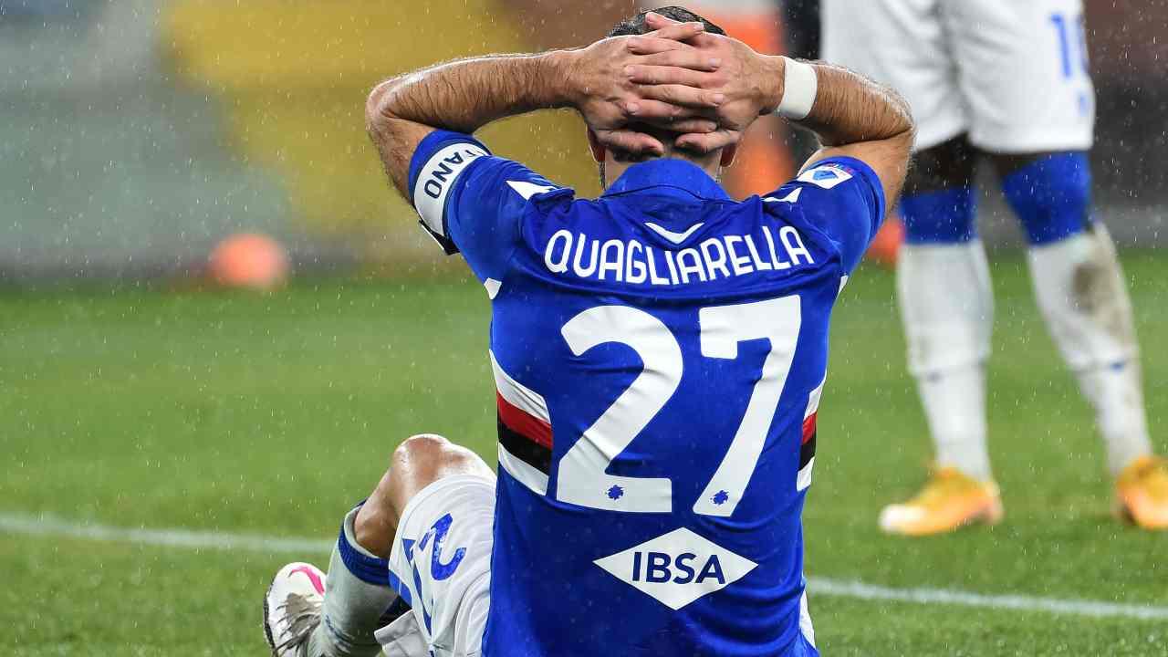 Sampdoria rinnovo Quagliarella