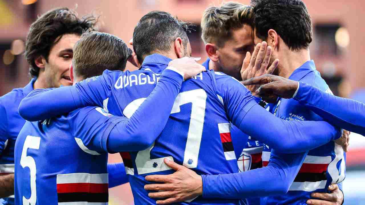 Sampdoria Napoli diretta streaming