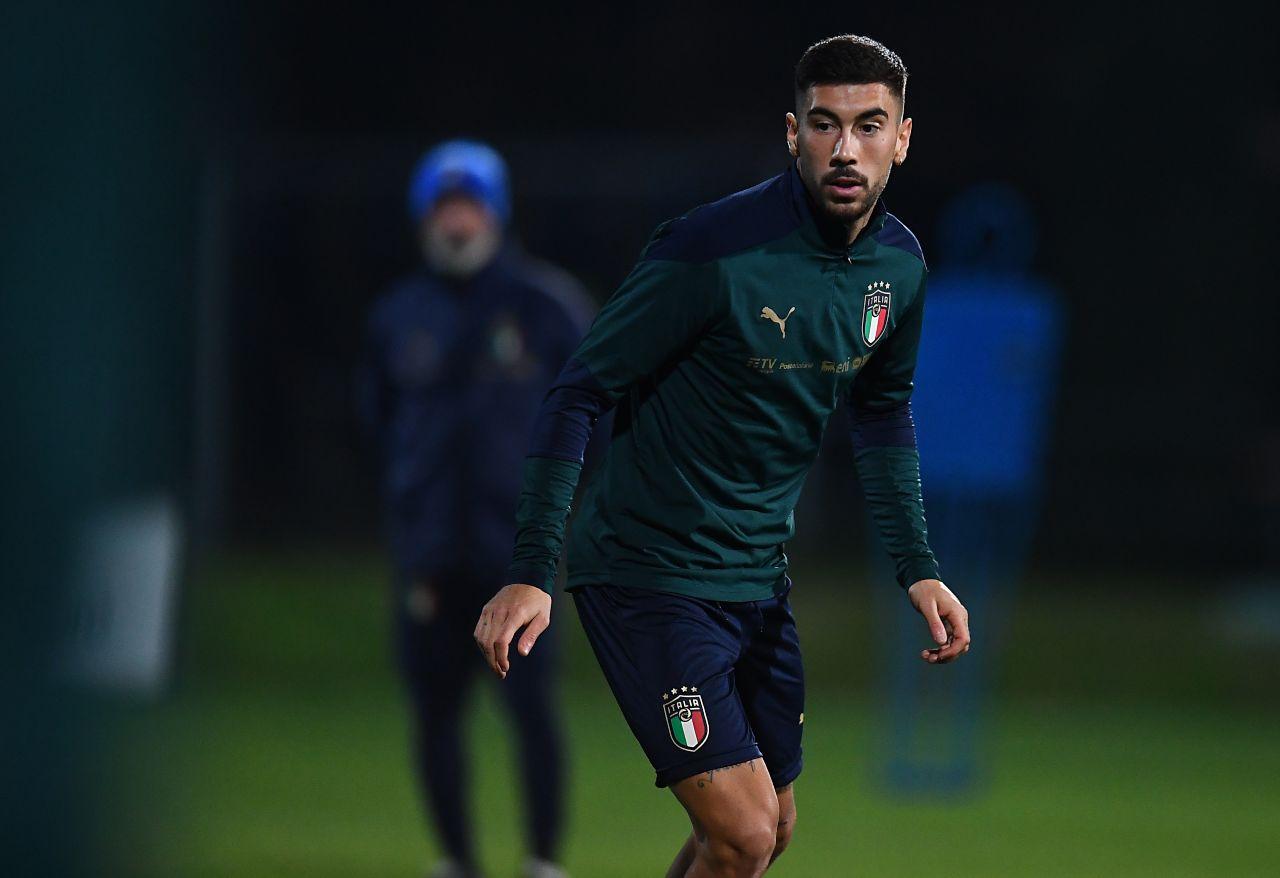 Mattia Zaccagni, centrocampista del Verona che piace al Napoli. Getty Images