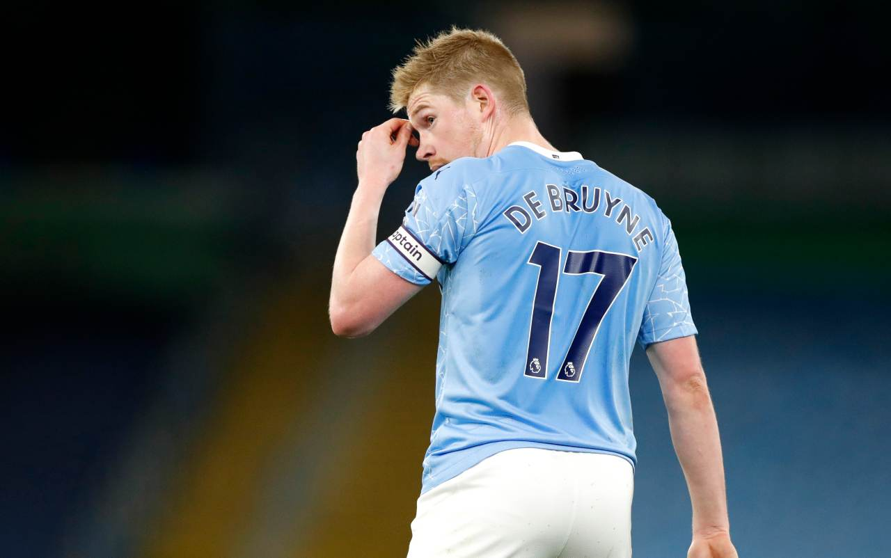 Kevin De Bruyne, centrocampista del Manchester City. Getty Images