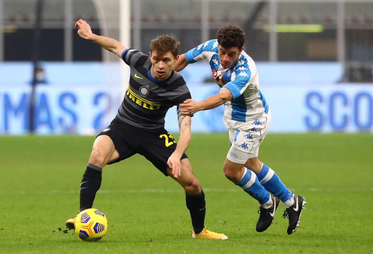 Napoli-Inter. Getty Images