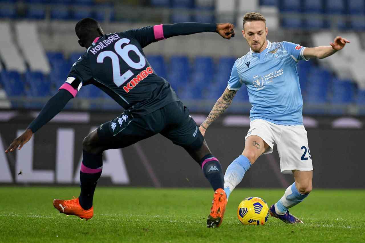 Napoli-Lazio. Getty Images