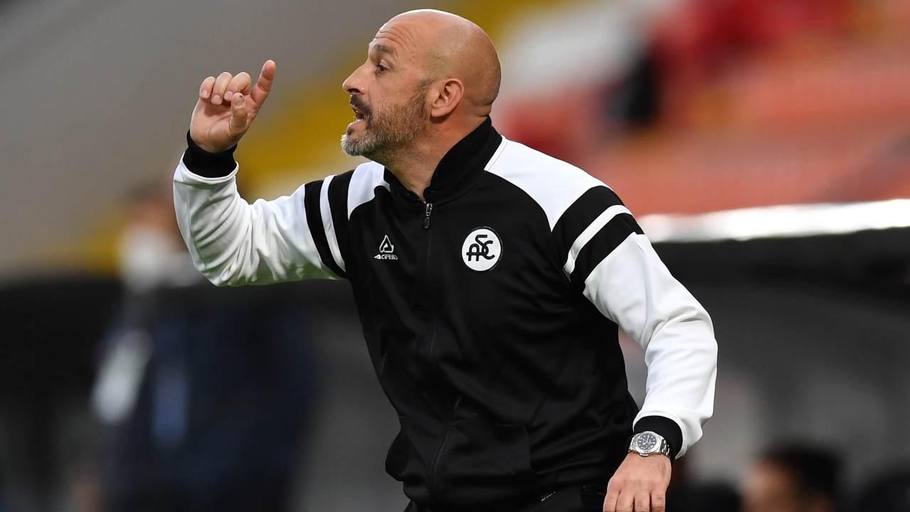 Vincenzo Italiano, allenatore dello Spezia. Getty Images