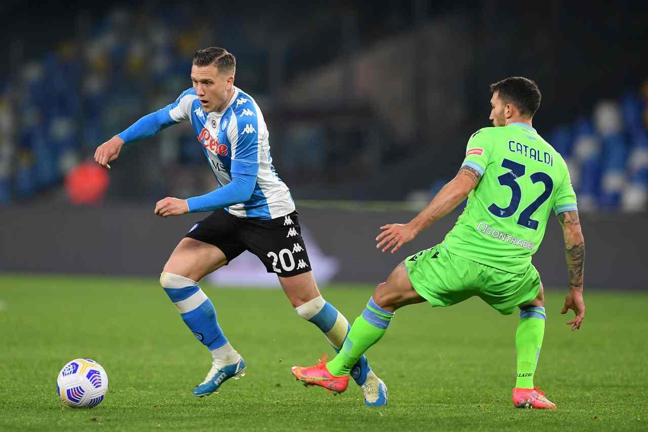Danilo Cataldi, centrocampista della Lazio. Getty Images