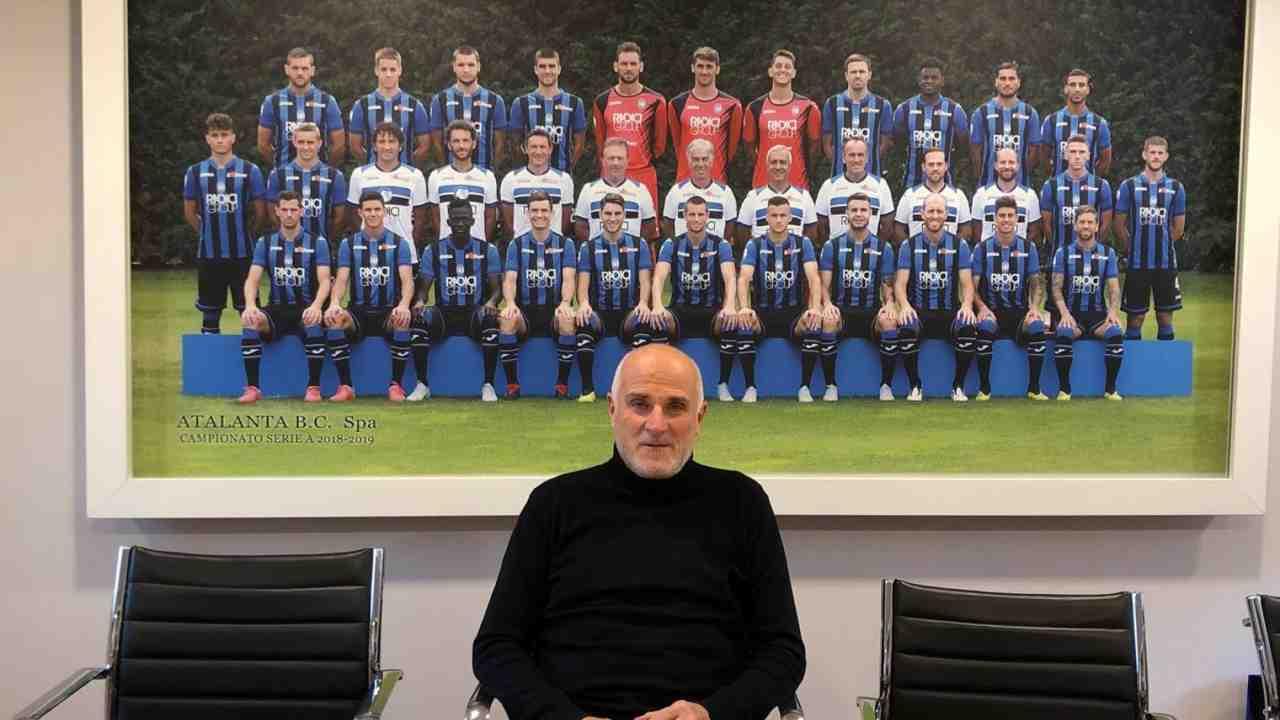 Atalanta, il responsabile del settore giovanile Maurizio Costanzi (foto © Atalanta Bergamasca Calcio).