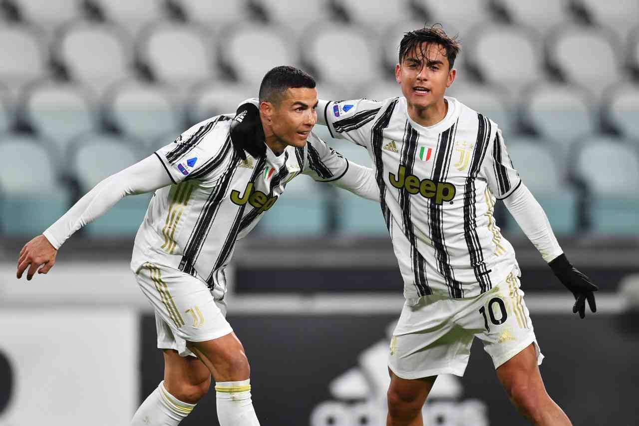 Dybala e Ronaldo (Photo by Valerio Pennicino/Getty Images)