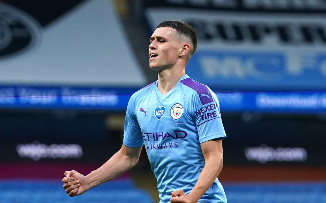 Phil Foden (Photo by Dave Thompson/Pool via Getty Images)