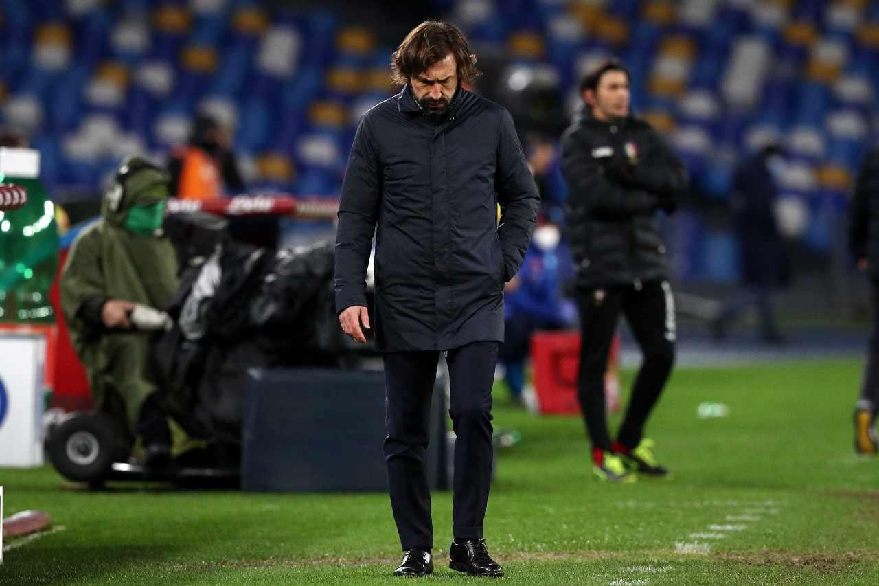 Andrea Pirlo in bilico (Photo by Francesco Pecoraro/Getty Images)