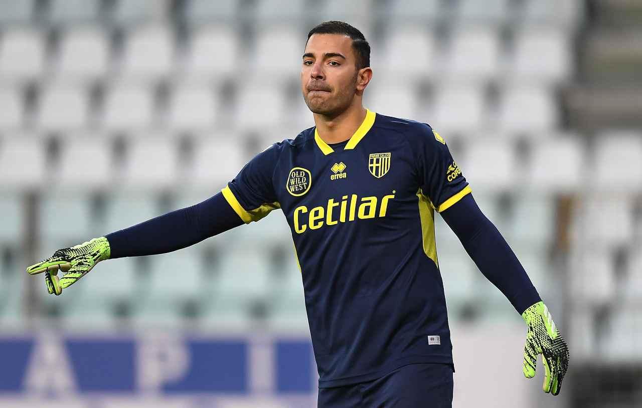 Luigi Sepe, portiere del Parma. Getty Images