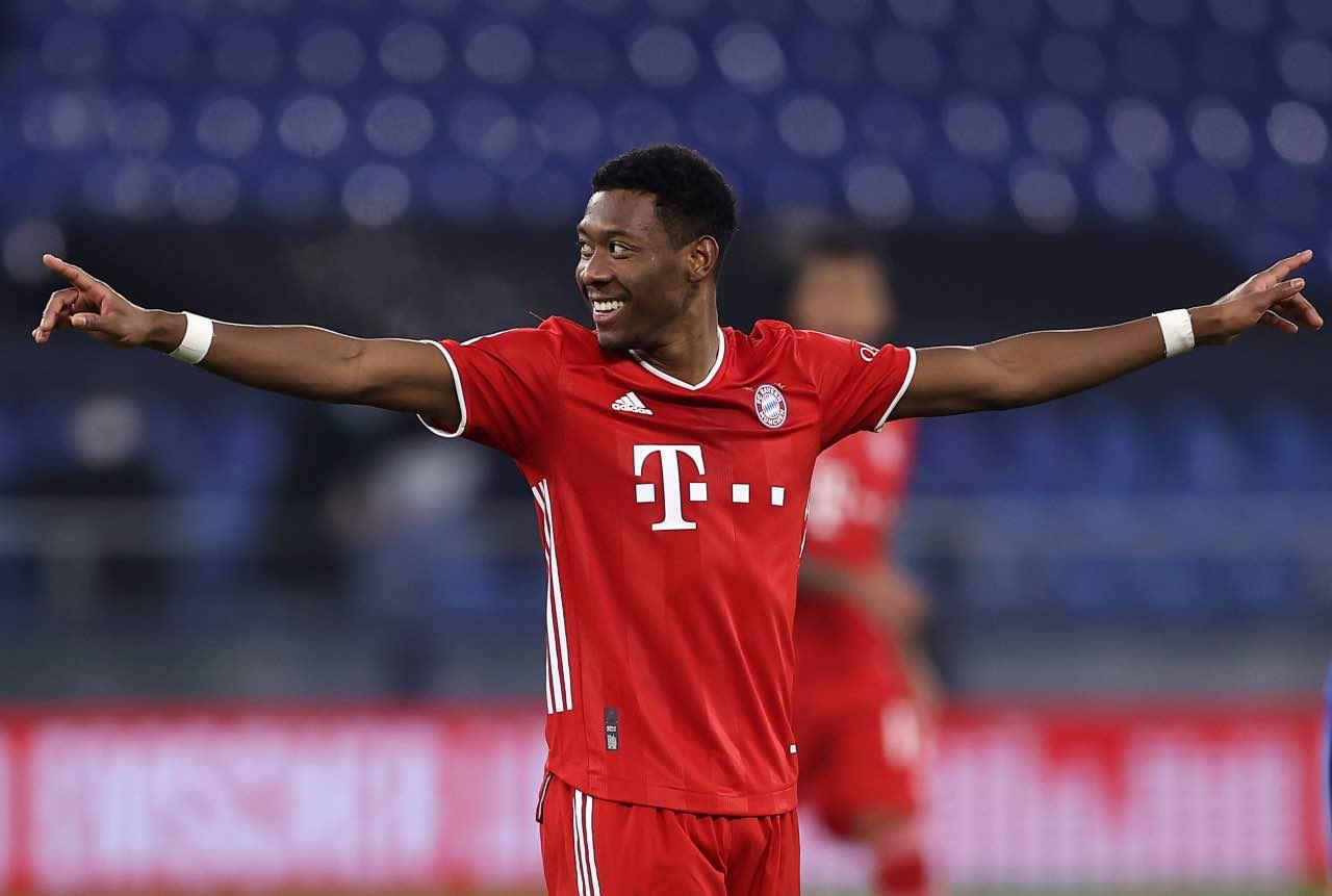 David Alaba, difensore del Bayern Monaco. Getty Images