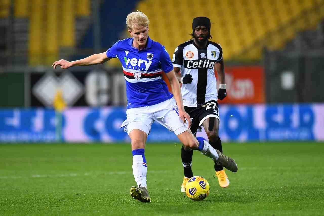Sampdoria Parma