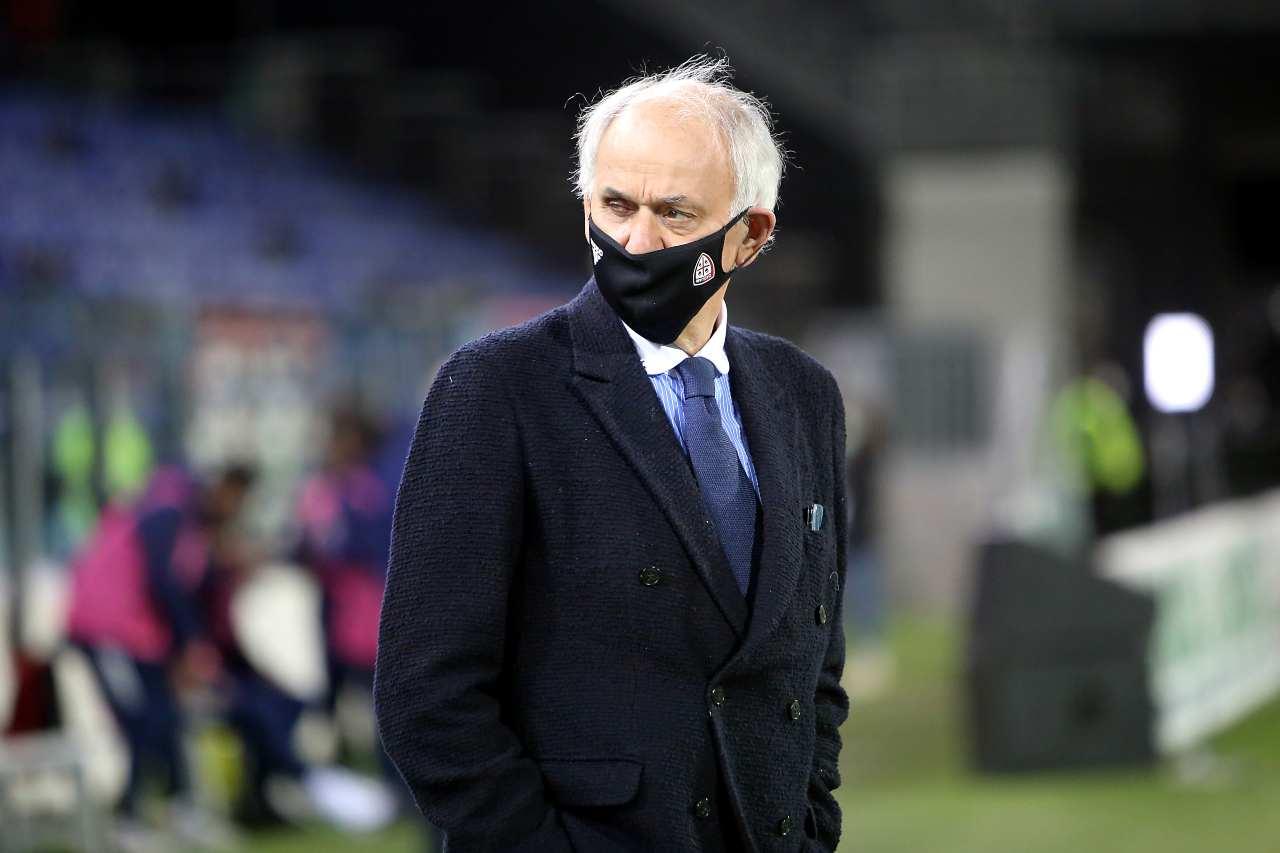 Stefano Capozucca, direttore sportivo del Cagliari. Getty Images