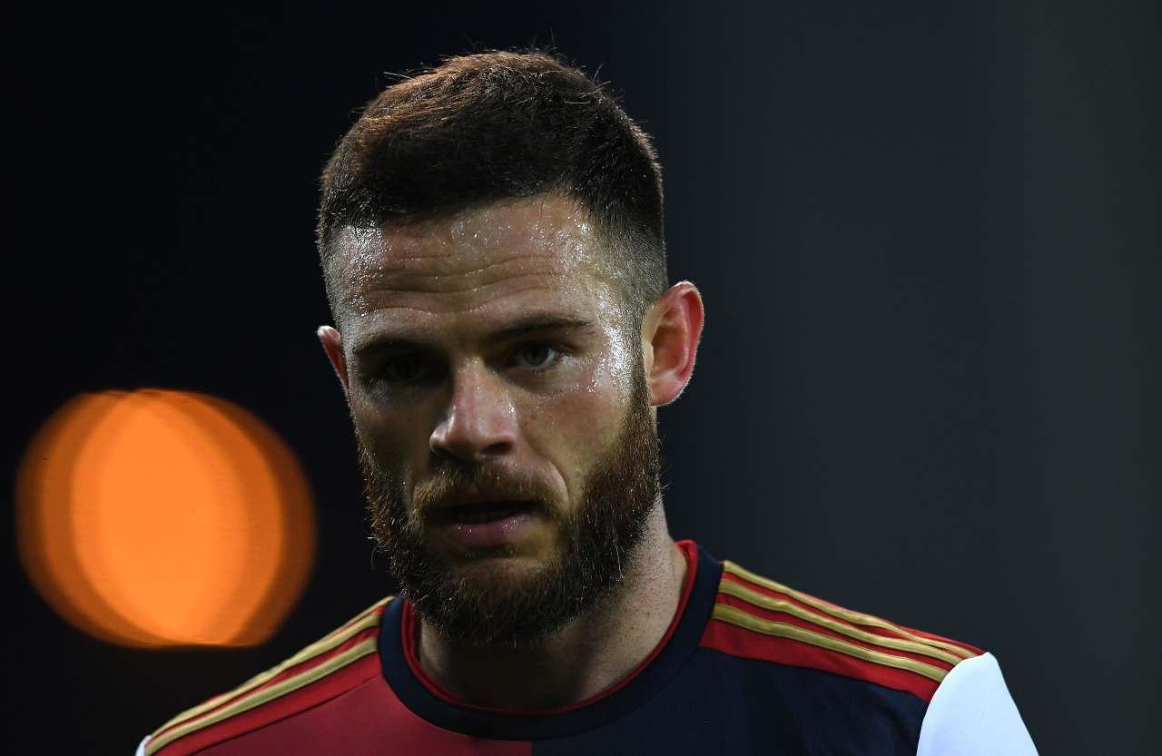Nahitan Nandez, centrocampista del Cagliari. Getty Images