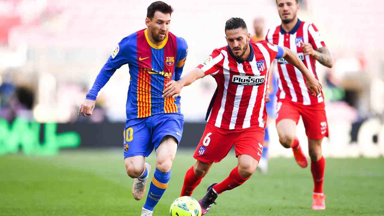 Barcellona Atetico Madrid