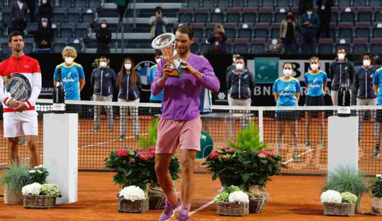 Nadal vince gli Internazionali d'Italia