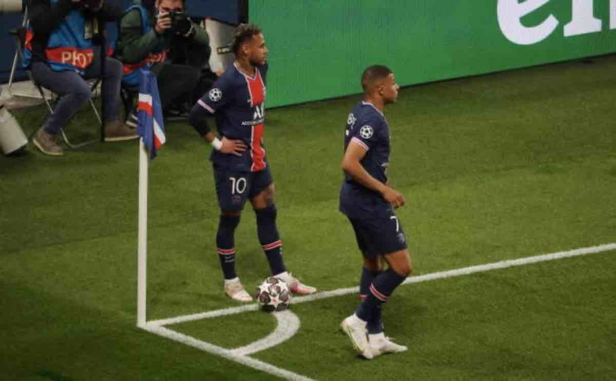 Neymar Jr. e Kylian Mbappé