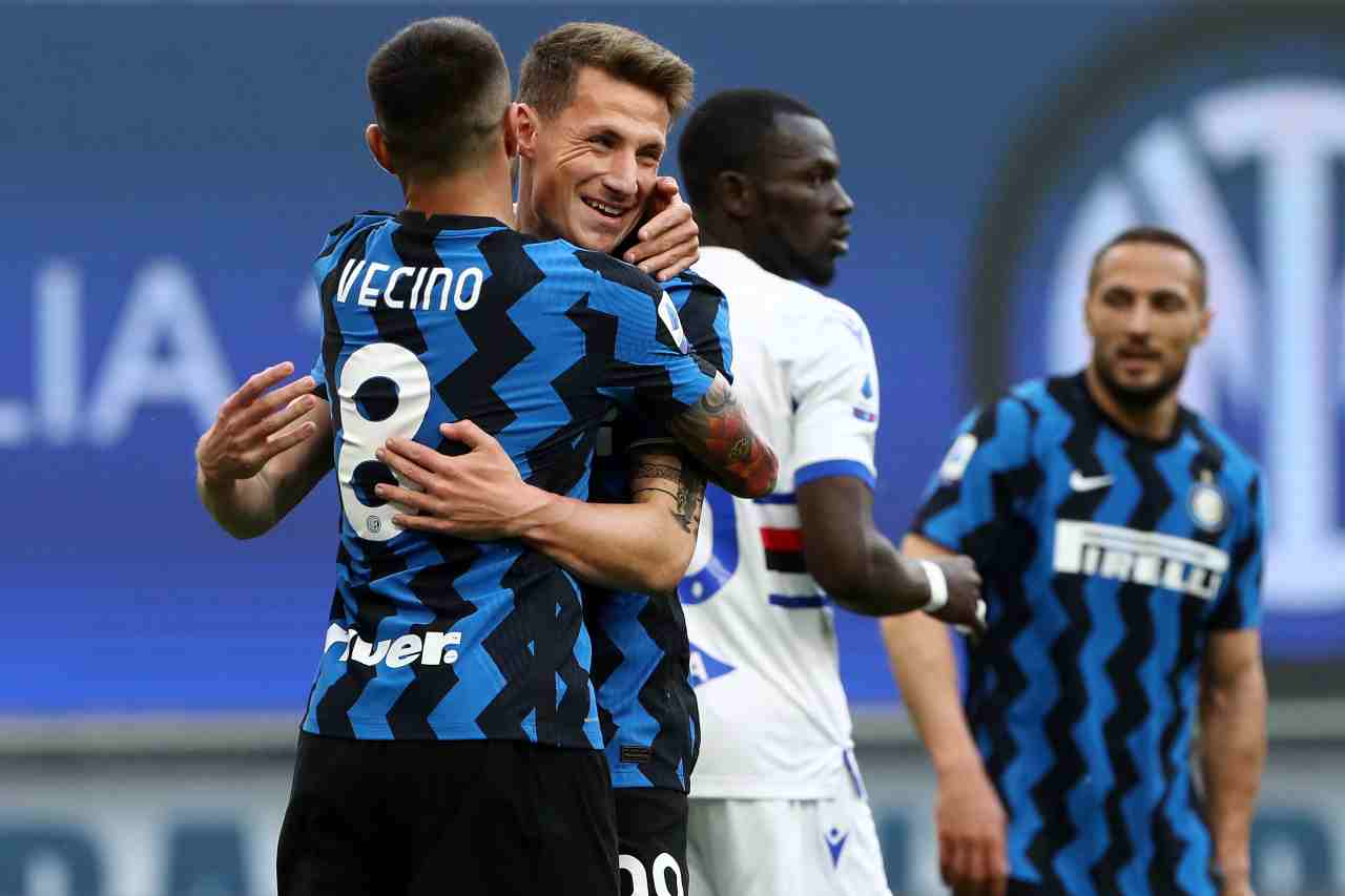 Inter-Sampdoria 5-1   Tabellino   Cronaca   Highlights   Classifica - Sport Meteoweek