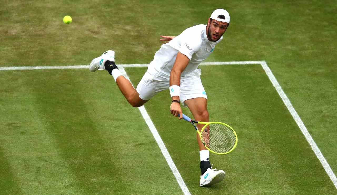 Wimbledon Berrettini Pella